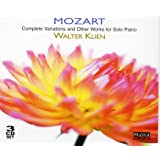 Mozart: Complete Variations And Other Works For Solo Piano