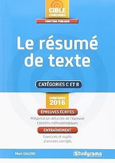 ESC Resume de texte  pdf   BCE Mod  le sans couture des textes de style manuscrit de vintage Le r  sum    ancien