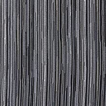Platinum Black and Gray Silver Stripe Wood Contemporary Damask Upholstery Fabric by the yard