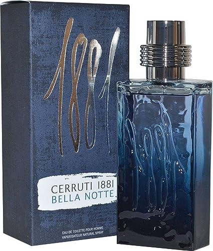 Cerruti 1881 pour homme Bella Notte 125 ml Agua de colonia para hombre en spray,