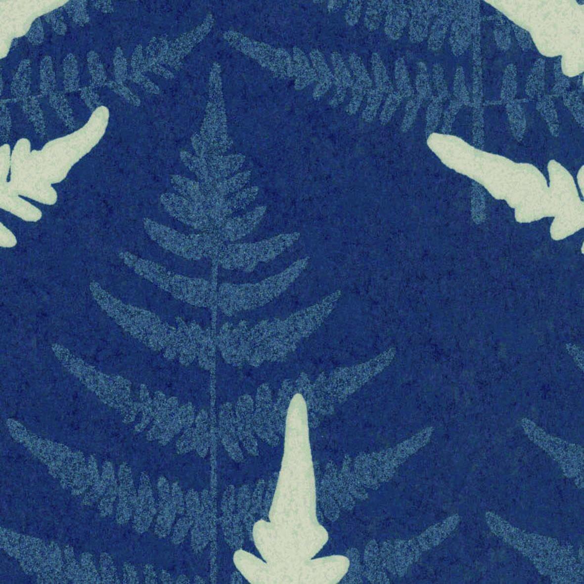 リリカラ 壁紙46m 北欧 花柄 ブルー LL-8095 B01MTK30RC 46m|ブルー