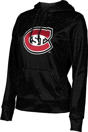 School Spirit Sweatshirt Heathered Cloud State University Girls Pullover Hoodie St
