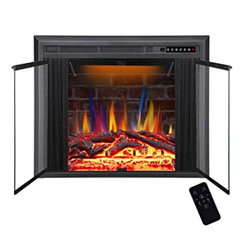 Amazon.com: R.W.FLAME - Placa de chimenea eléctrica ...