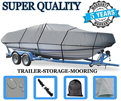 GREAT QUALITY BOAT COVER FITS TRACKER PRO TEAM 175 TXW/175 TF 2007-2011