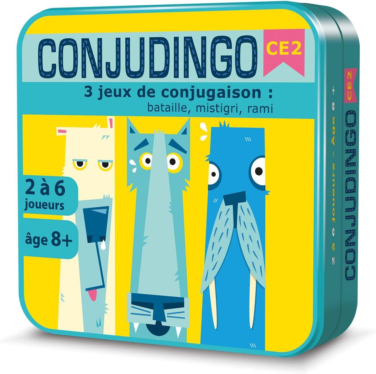Aritma Conjudingo Ce2 Jeux De Cartes Conjugaison 8 Ans Amazon Fr Jeux Et Jouets