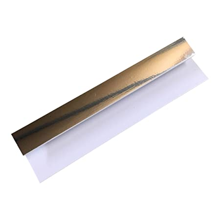 Silver 8mm End Cap Trim For Bathroom Panels Shower Wet Wall PVC Ceiling  Cladding By DBS
