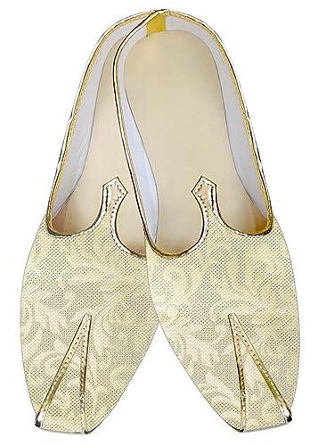 Mens Ivory Wedding Shoes Handmade MJ012029