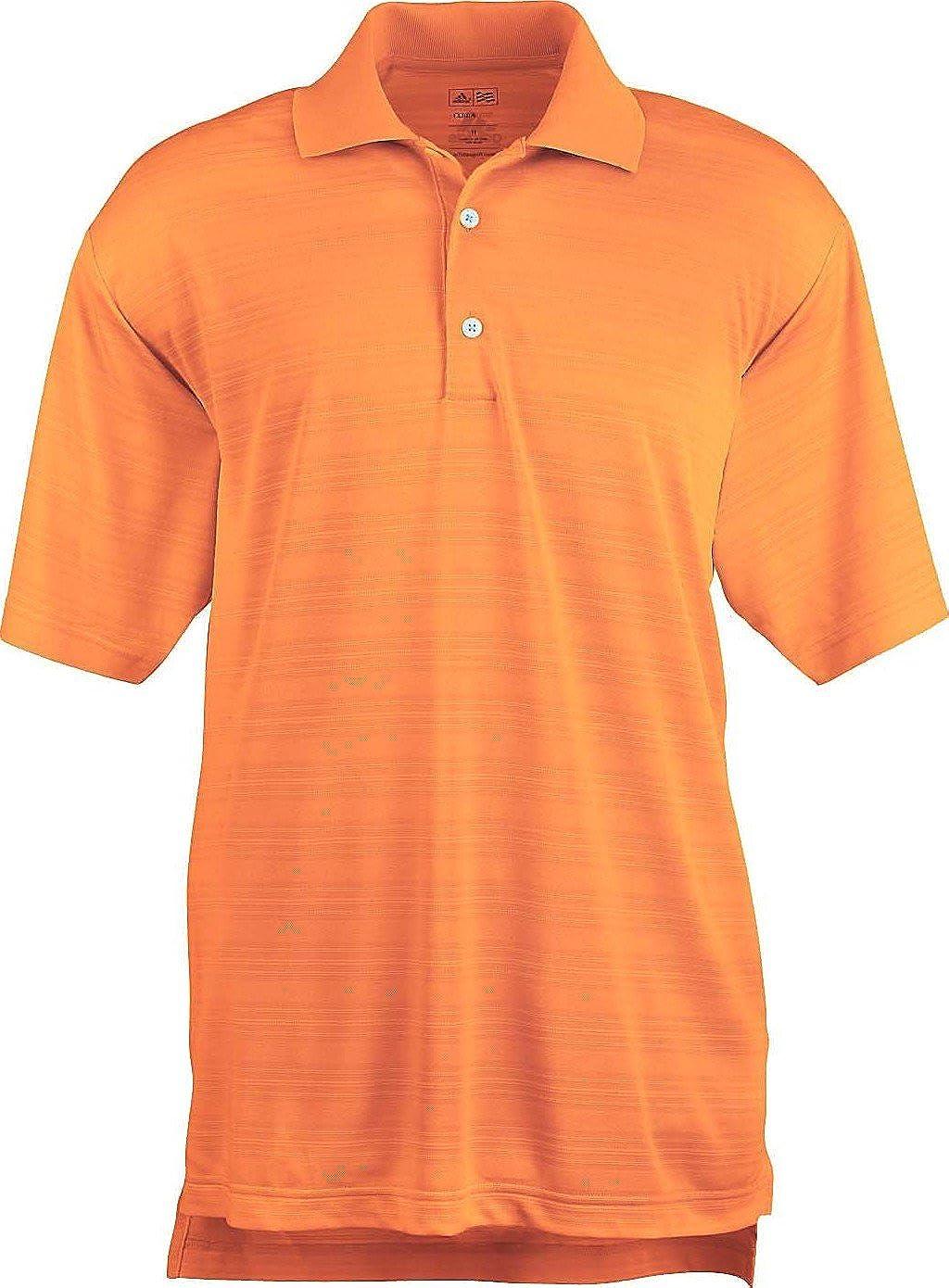 Orange XXL adidas pour Homme Climalite texturé Solide Polo