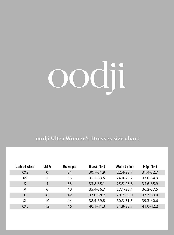 oodji Ultra Womens Round Neck Jersey Dress