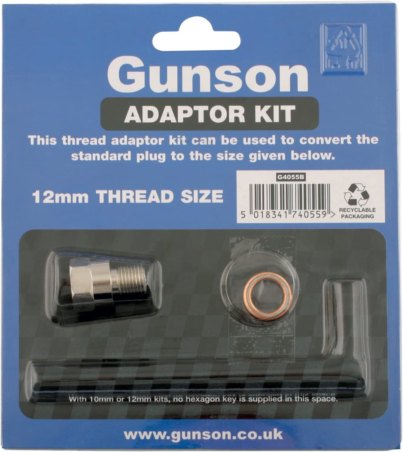 Gunson 4055D kit de adapteur 14 mm long reach Colortune Adaptor Kit 14mm
