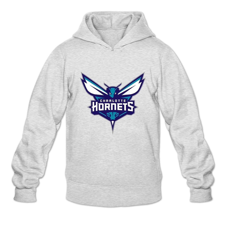 detailed pictures 6f051 f86dd Men's Charlotte Hornets Logo Long Sleeve Hoodies Sweatshirt ...