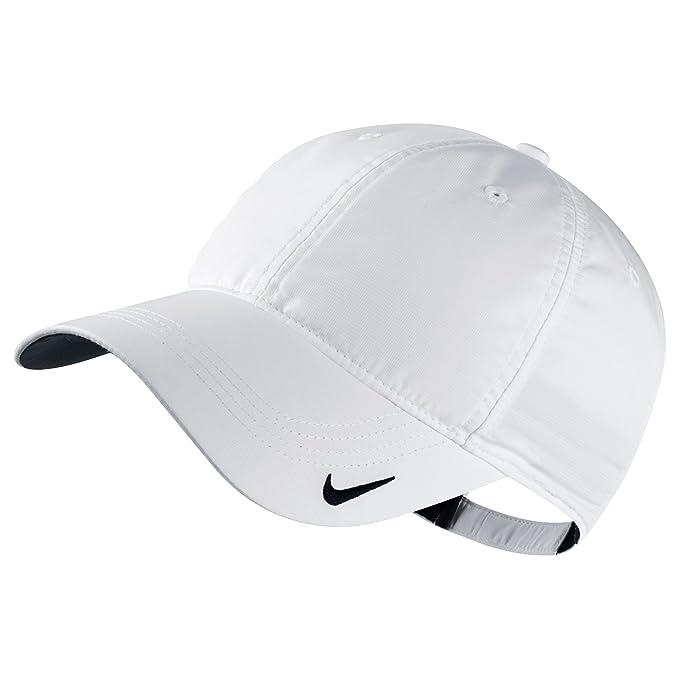 Nike - Gorra Deportiva básica (Talla Única/Blanco): Amazon.es ...