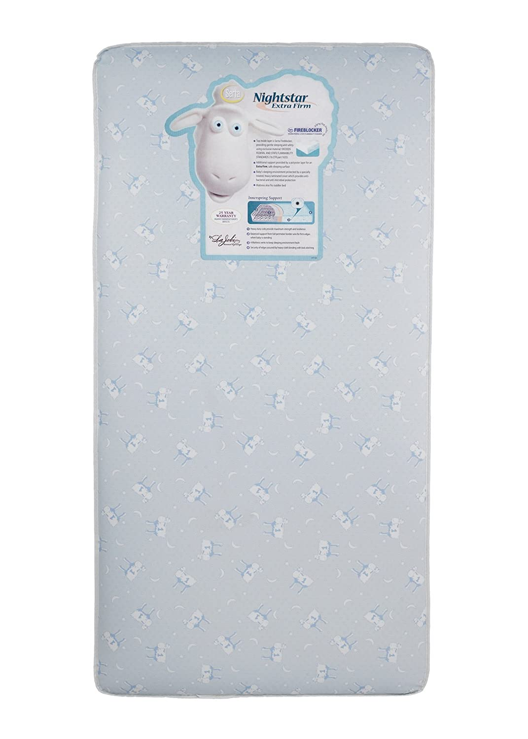 Amazon.com: Serta Nightstar Extra Firm Crib Mattress (Discontinued by  Manufacturer): Baby