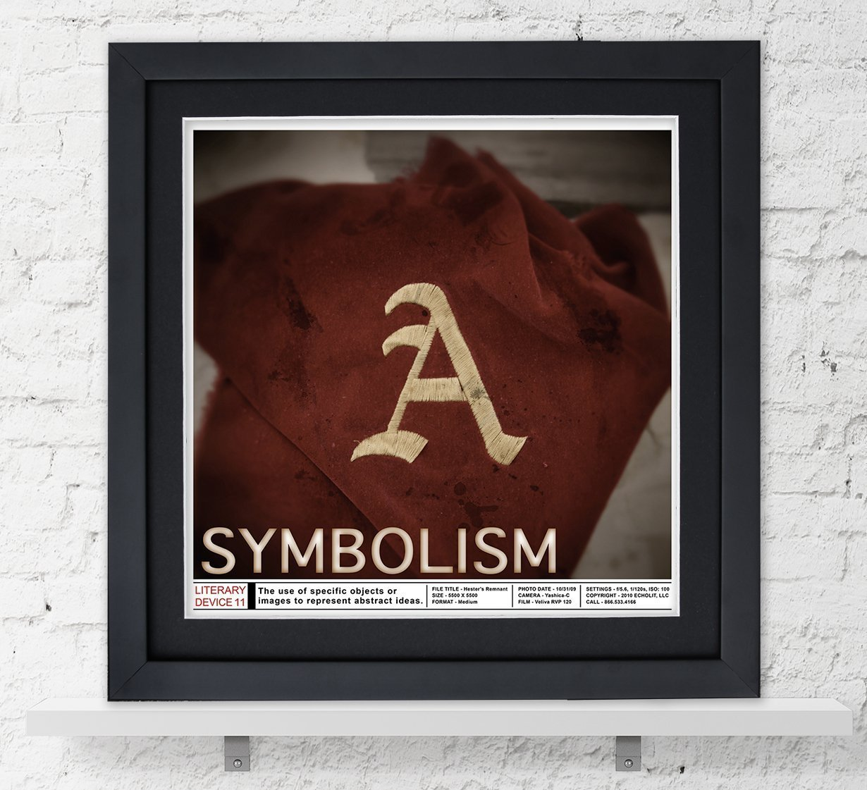 Amazon Symbolism Literary Device Poster For Classroom Office
