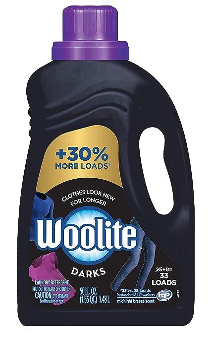 Woolite Darks Laundry Detergent, 50 Ounce
