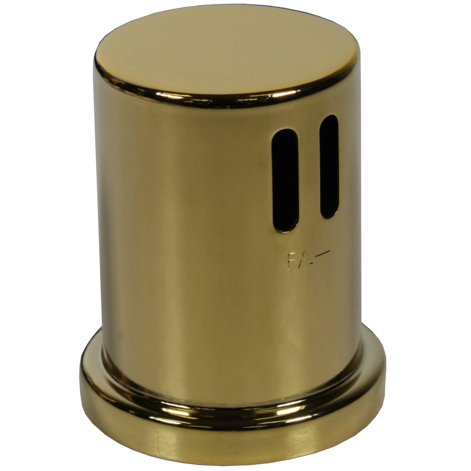 Polished Gold Cap for AG200 Series Dishwasher Airgaps
