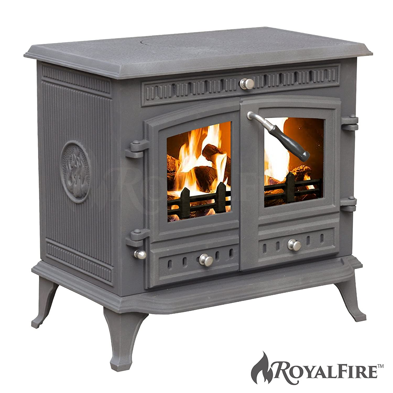 LAURA ASHLEY Multi-Fuel Wood Burner 5Kw Stove Free Standing DEFRA ...