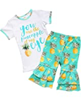 So Sydney Girls Toddler 2-4 Pc Novelty Spring Summer Top Capri Set accessories