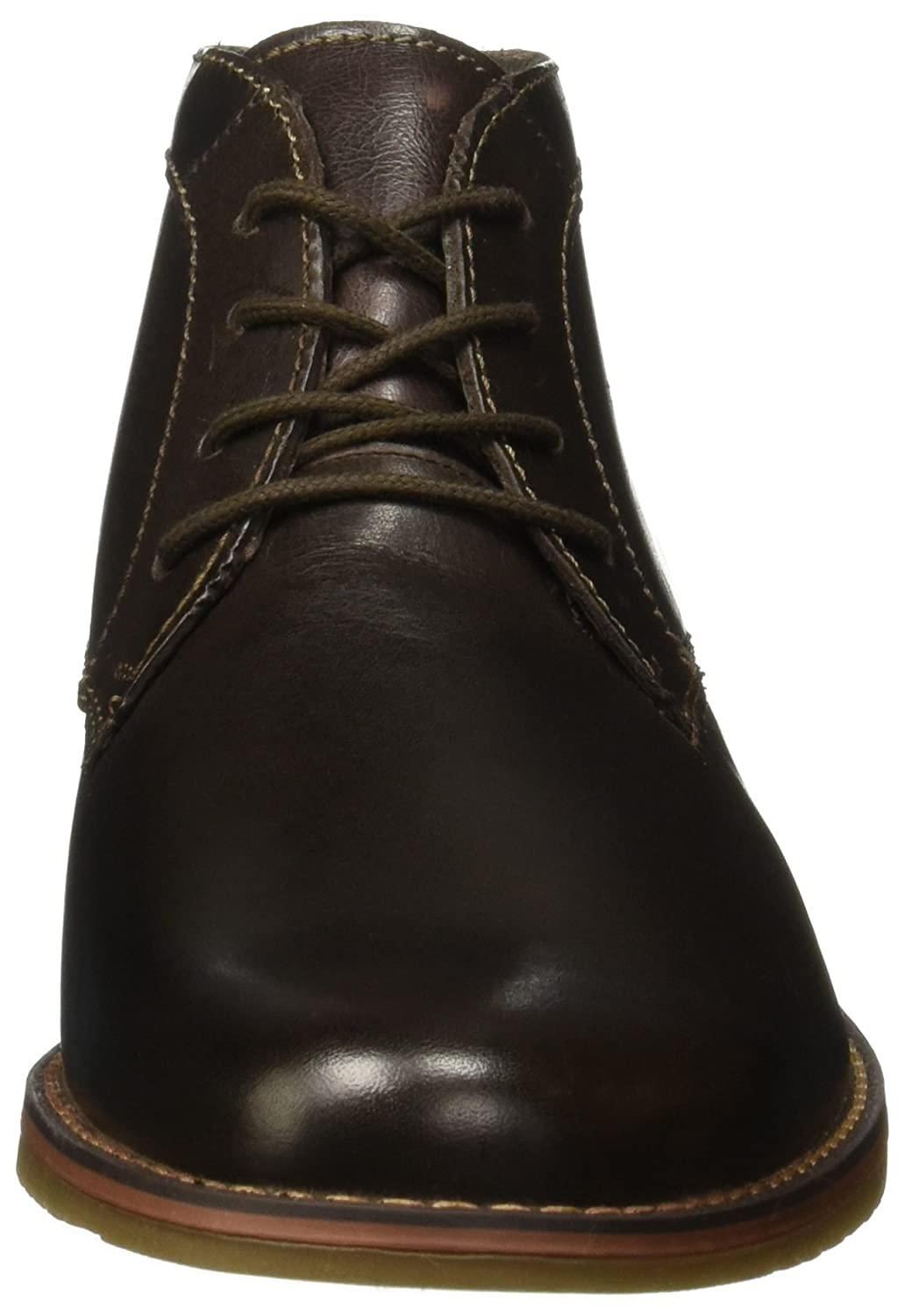 Amazon.com | Flexi Jeremy Mens Water Resistant Oxford Genuine Waxed Leather Lace Up Chukka Dress Boot | 92404 Chocolate | Shoes
