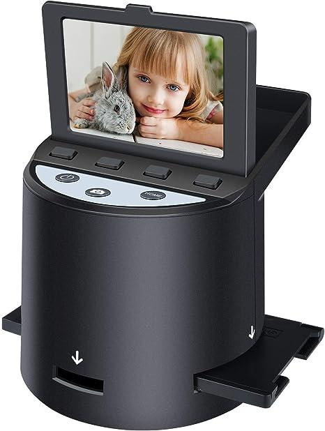 Renewed KODAK Mini Digital Film /& Slide Scanner Super 8 /& 8mm Film Negatives /& Slides 110 126 Converts 35mm
