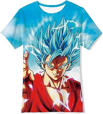 Men Women Dragon Ball Z Kid Gohan Print 3D T-Shirt Casual Short Sleeve Tee Tops