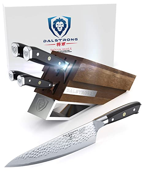 Amazon.com: DALSTRONG Knife Set Block - Shogun Series X ...