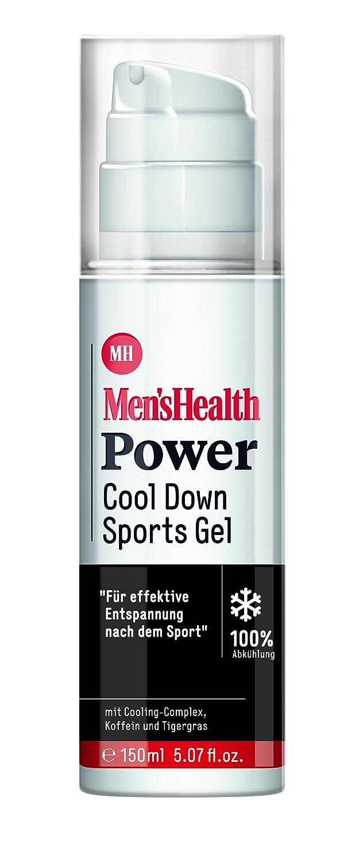 Men´s Health Power Cool Down Sports Gel - vegan & parabenfrei, 1er Pack (1 x 150 ml) 1er Pack (1 x 150 ml) Men's Health 060004