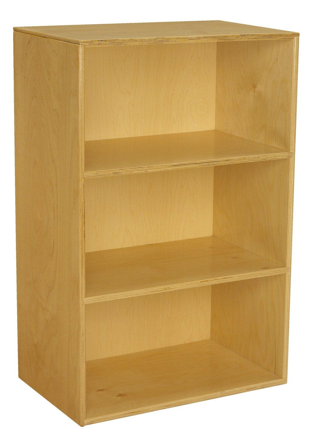 Childcraft Narrow Storage Unit, 23-3/4 W x 14-3/4 D x 36 H in
