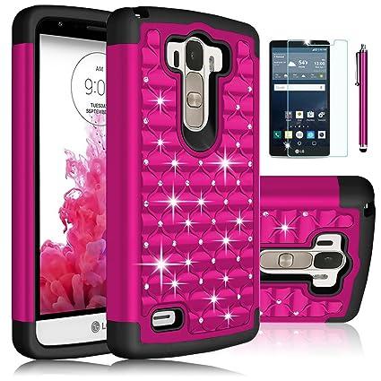 Amazon.com: LG G Stylo Funda, LG G4 Stylus LS770 Caso, EC ...