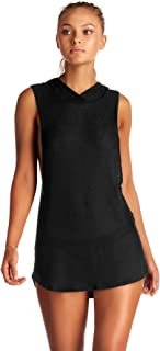 product image for Vitamin A Women's Drifter Beach Drifter Hoodie Tunic Swim Cover Up