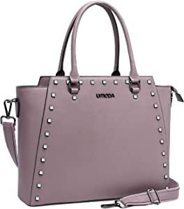 Laptop Bag for Women,13-15.6 Inch Womens Laptop Tote Bag,Padded Computer Bags for Women,Purple