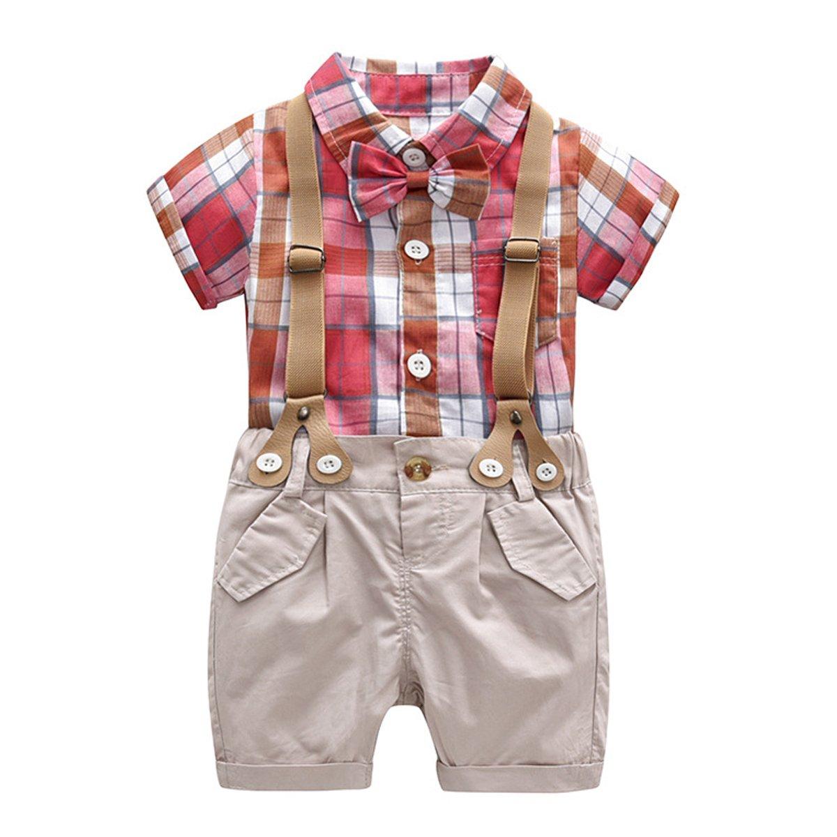 Bebone baby Junge Bekleidung Kinder Smokings Taufe Hochzeit Anzüge