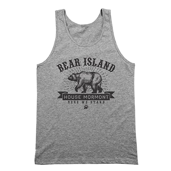 Amazon.com: Funny Threads Outlet Bear Island House Mormont Here We ...