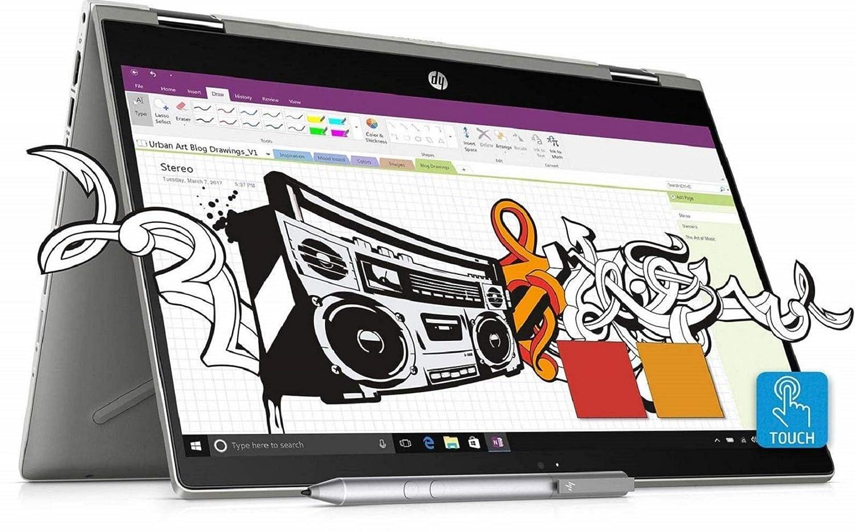 Hp Pavillion x360 14-cd0050TX Convertible Touchscreen Laptop