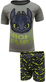 Amazon how to train your dragon little boys dragon pajama set intimo boys how to train your dragon night fury pajama ccuart Image collections