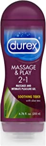 Durex Massage & Play 2 in 1 Lubricant Soothing Touch, 6.76 oz