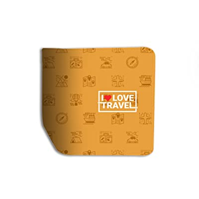 I Love Travel Leather Business ID Passport Holder Protector Cover _SUPERTRAMPshop 60%OFF