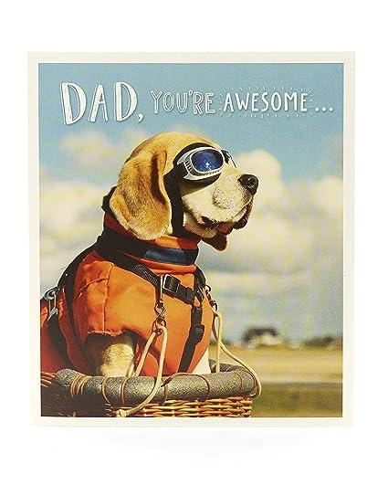 Tarjeta de cumpleaños divertida para papá, tarjeta de regalo ...