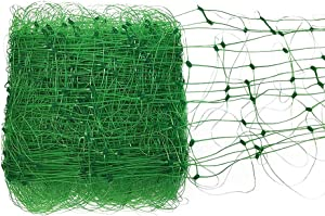 Zebery Best Heavy Duty NET- Grow Garden Flowers: Green Pea, Cucumber, Tomatoes, Bean and Vine Plants,Heavy Duty Net Support for Climbing Vining Plants.