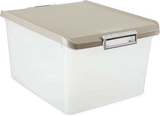 Tatay 1150023 Caja de Almacenamiento Multiusos 35 l de Capacidad ...