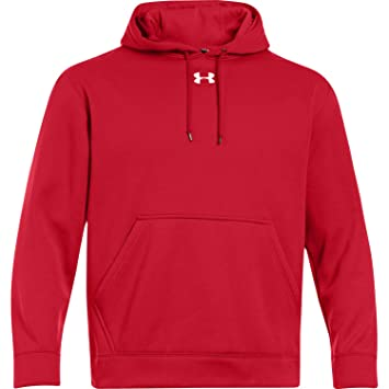 under armour zip up. men\u0027s armour® fleece team hoodie, red, 3xl under armour zip up