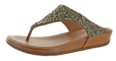 c04c0ff70a7bb0 FitflopTM Banda Roxy Womens Toe Post Sandals  Amazon.co.uk  Shoes   Bags