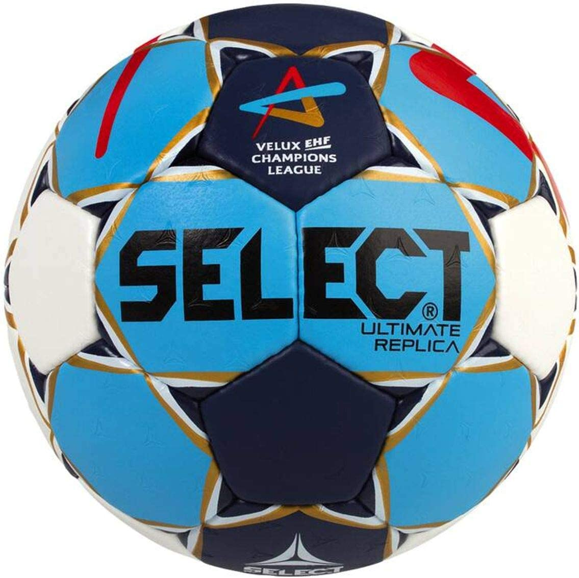 SELECT Ultimate Replica CL Men Balón de Balonmano, Hombre, Azul ...