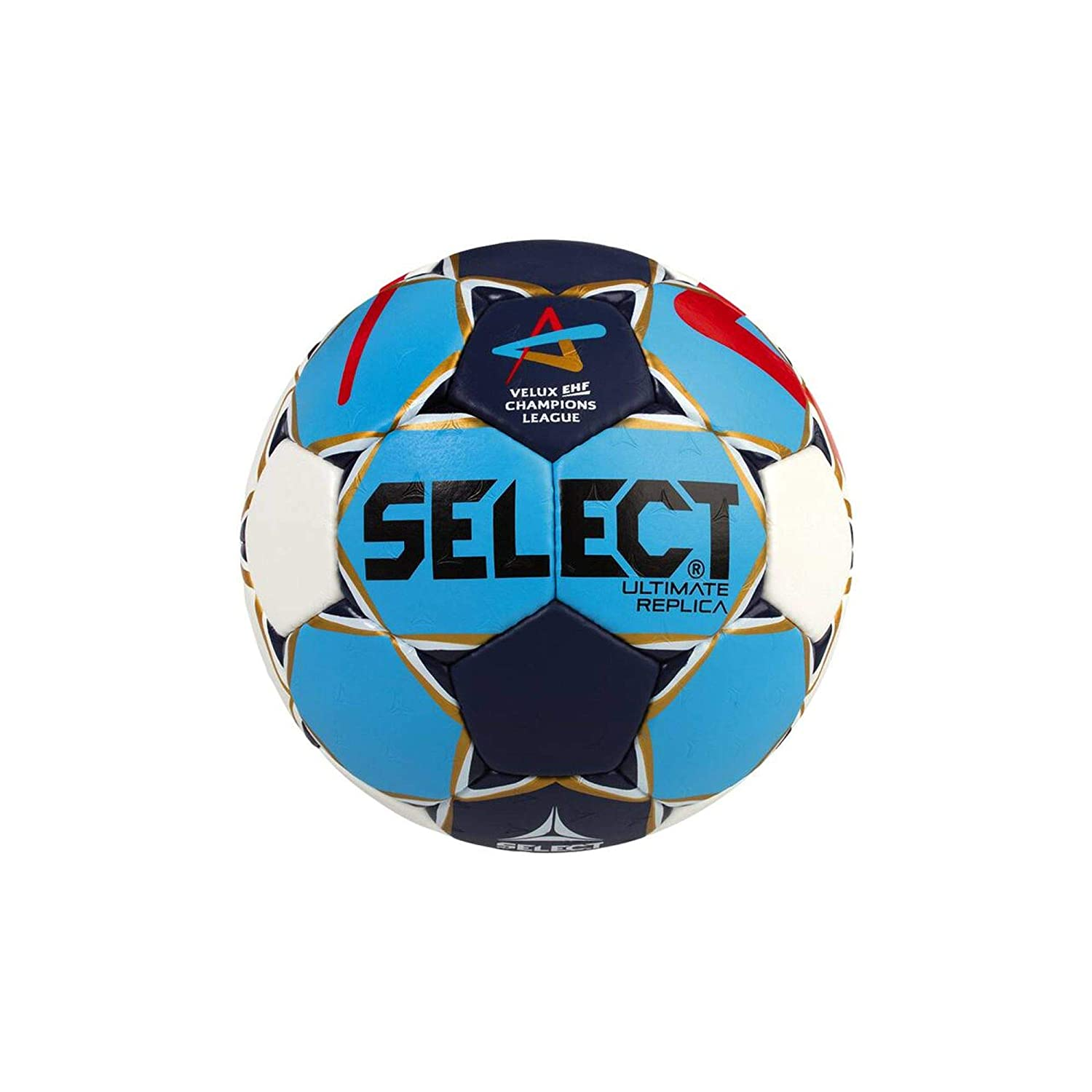 TALLA 2. SELECT Ultimate Replica Cl Men Balón de Balonmano, Hombre