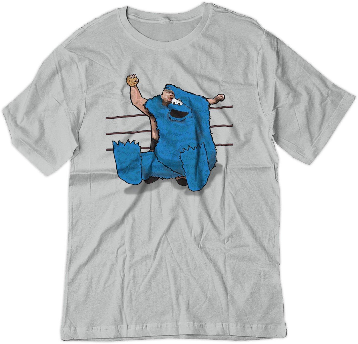 Cookie Monster Steve Austin W We Stunner Shirt 8012