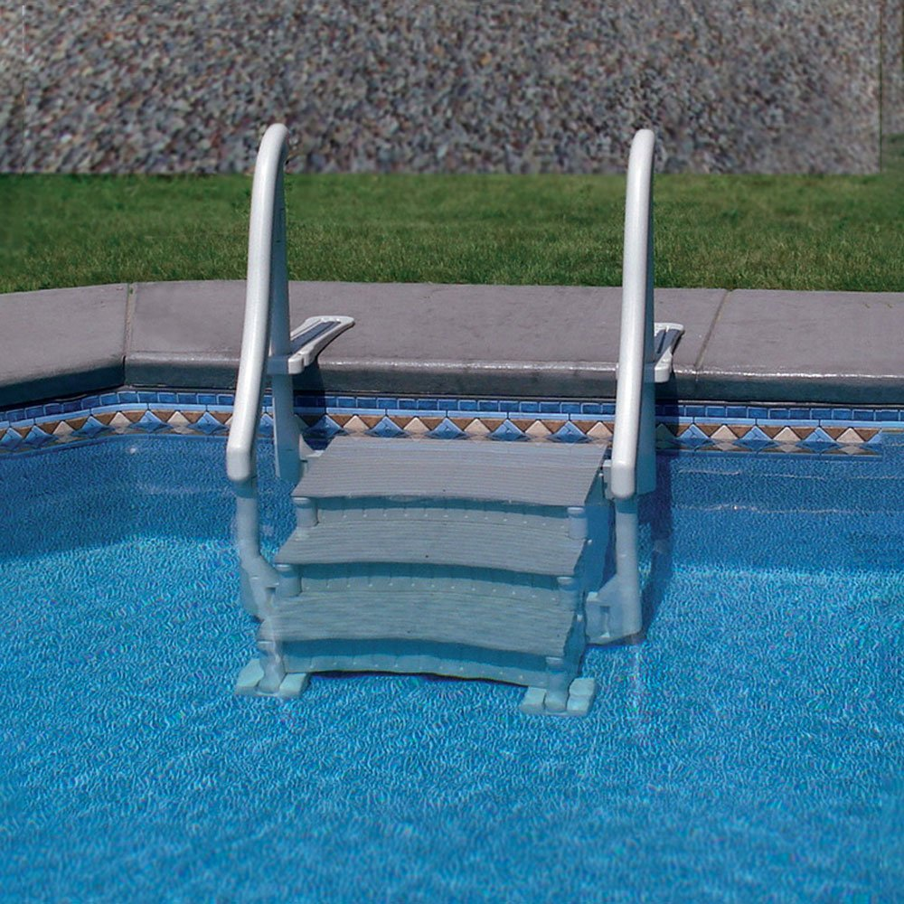 Exceptionnel Amazon.com : Confer In Ground Swimming Pool Curve Step System : Swimming  Pool Ladders : Garden U0026 Outdoor