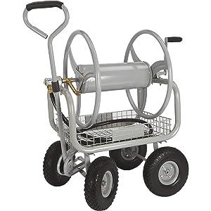 Strongway Garden Hose Reel Cart
