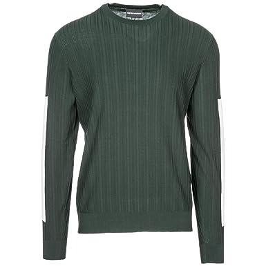 e16537c86892f Emporio Armani Pull Homme Verde L  Amazon.fr  Vêtements et accessoires