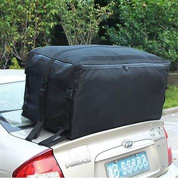 Tancendes Oxford Waterproof Car Top Carrier Roof Cargo Bag Rack Dust Bags