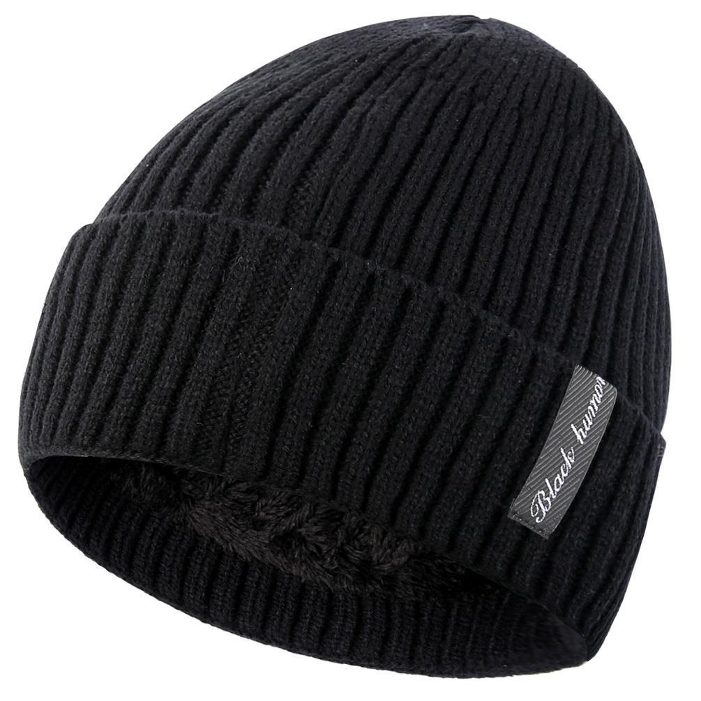 09b0d0f929a5 Novawo Bonnet Beanie Unisexe Doublure en Laine Épais Chaud Chapeau en Tricot  avec Écharpe Chaude